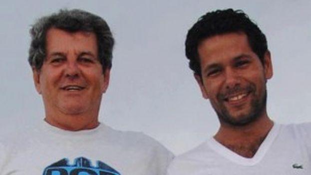 Oswaldo Payá and Harold Cepero
