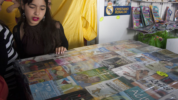 The Havana Book Fair. (14ymedio)