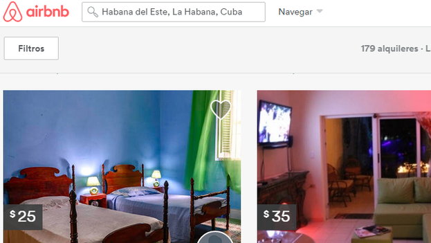 The website Airbnb offers private accommodation all over the world.
