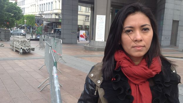 Wendy Flores, abogada del Centro Nicaragüense de Derechos Humanos