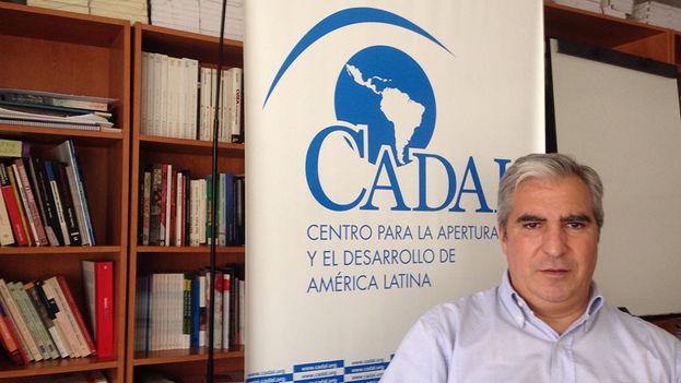 Gabriel Salvia director del Centro para la Apertura y el Desarrollo de América Latina. (14ymedio)