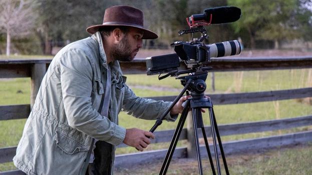 Eliécer Jiménez-Almeida es el director del documental 'Veritas'. (Cortesía)