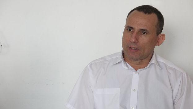 José Daniel Ferrer durante la entrevista. (14ymedio)
