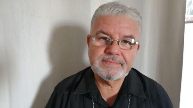 José Conrado conversó con '14ymedio', horas antes de viajar a Madrid y después de meses sin poder salir de Trinidad. (14ymedio)