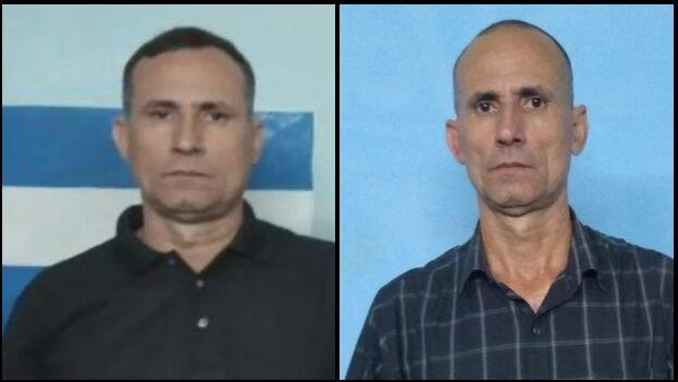 El estado físico de José Daniel Ferrer se deterioró en la cárcel: a la izquierda una foto de 2019 y a la derecha otra de este abril de 2020. (Collage)