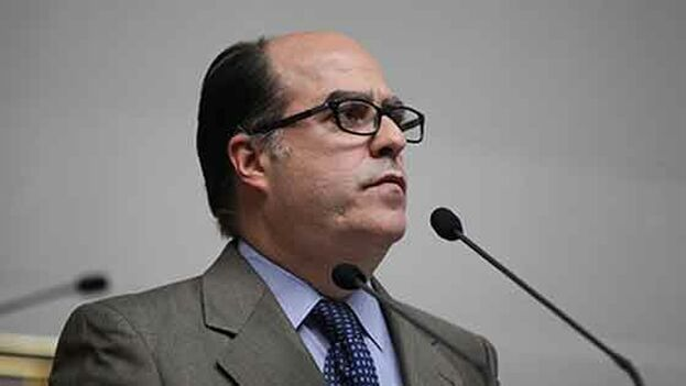 Julio Borges participa en el foro de Aliados por Israel estos días. (EFE)