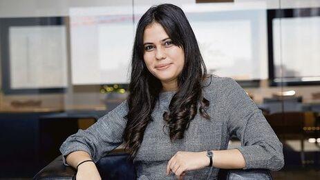 La periodista Náyare Menoyo, realizadora del documental 'Leonardo Padura, una historia escuálida y conmovedora', con el que ganó el Premio Internacional de Periodismo Rey de España. (EFE/Zipi)