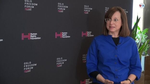 """María Werlau quiere poner este material """"a disposición de analistas y gobiernos""""."""