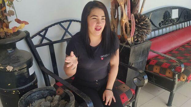 Melissa Barreto Gálvez, cubana de Santa Clara residente en Monterrey. (Cortesía)