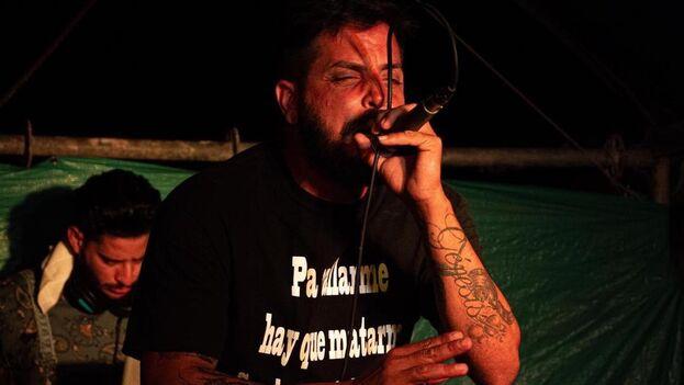 Omar Mena es autor de más de 11 discos desde que comenzó hace más de una década su carrera dentro del rap. (cortesía)
