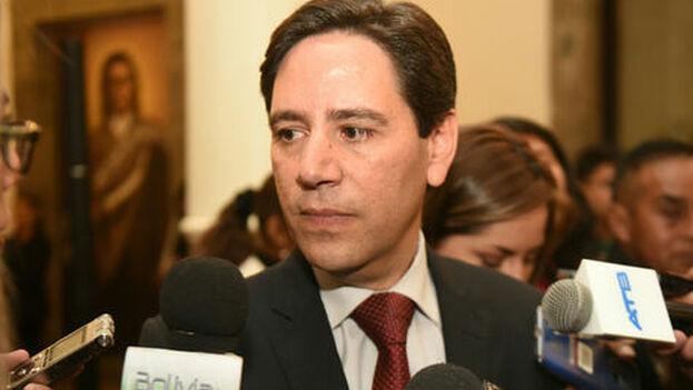 Salvador Romero fue designado este lunes por Jeanine Áñez como vocal en el Tribunal Supremo Electoral de Bolivia. (La Razón)
