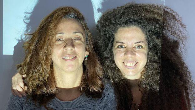 Las artistas Solveig Font, a la izquierda, y Celia González, a la derecha. (Avecez Art Space)