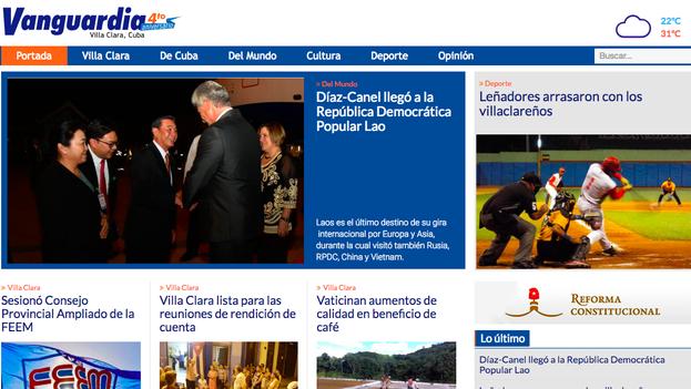 La directora del periódico 'Vanguardia' advirtió a los jóvenes reporteros de que no colaboraran con medios independientes. (Captura)