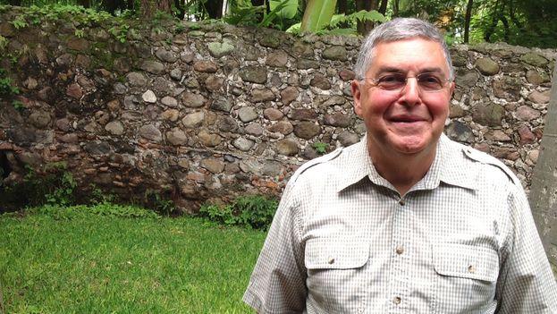 Andrés R. Hernández, vicepresidente de la Internacional de la Democracia Cristiana. (Reinaldo Escobar/14ymedio)
