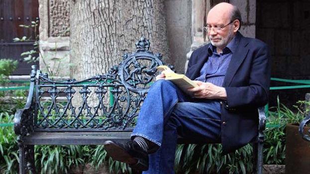 El escritor Manuel Pereira. (Iván Cañas)