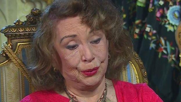 La escritora cubana, de 94 años, reside en Miami. (Captura)