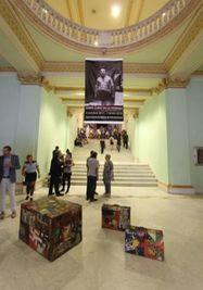 Boris Lurie en La Habana.