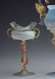 Copas de cristal de Murano