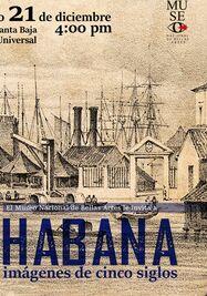 Exposición sobre La Habana.