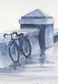 Malecón y bicicleta