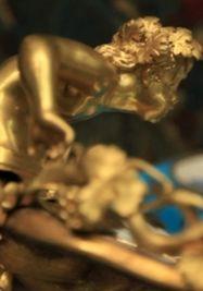 Pieza en bronce perteneciente al Museo de Artes Decorativas