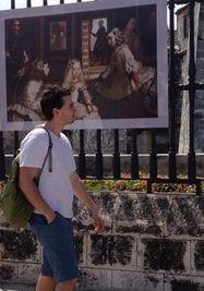 Reproducciones del museo del Prado. (14ymedio)