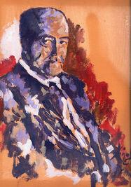 Retrato de Gastón Baquero