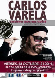 Carlos Varela en concierto.
