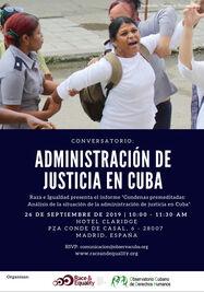Conversatorio sobre Administración de Justicia