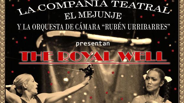 Cartel de la compañía teatral El Mejunje. (14ymedio)