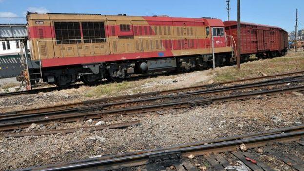Ferrocarril en Cuba. (EFE)