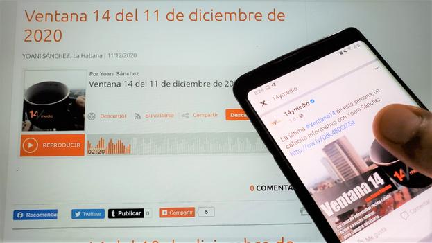 El podcast 'Ventana 14' por estos días sopla las velitas de su segundo aniversario. (14ymedio)