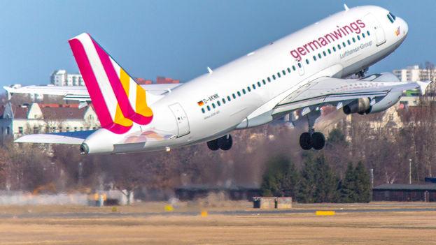 Un airbus A320 de la compañía alemana Germawings. (CC)