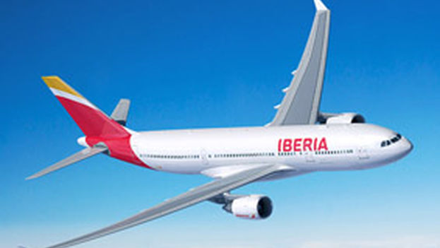 Avión A330-200 MTOW 242T de Iberia, que operará de Madrid a La Habana. (Iberia)