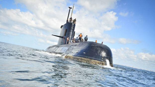El submarino ARA San Juan había partido el lunes 13 de noviembre pasado del sureño puerto de Ushuaia y se dirigía de regreso a su base. (EFE)