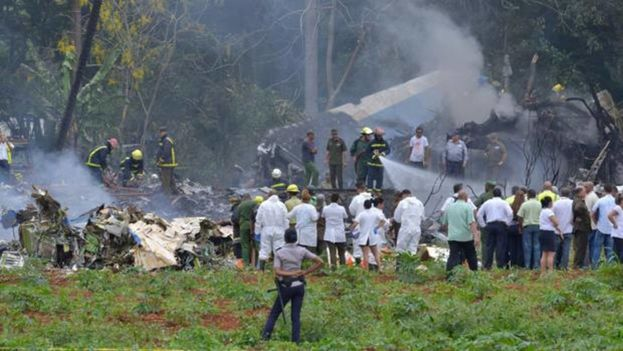 Accidente de aviación en La Habana. (EFE)