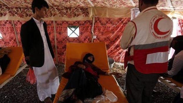 Actualmente, la propagación del cólera se ha reducido de manera significativa en algunas áreas. (EFE)