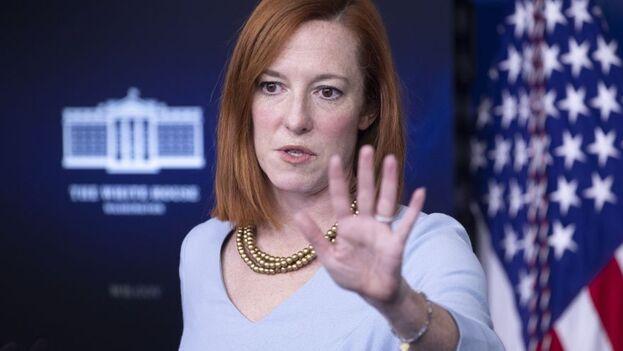 """La Administración de Biden anunció que """"los participantes actuales"""" del programa de Protocolos de Protección a Migrantes (MPP) """"deben permanecer donde están, a la espera de más información oficial de los funcionarios del Gobierno de EE UU"""". (EFE)"""