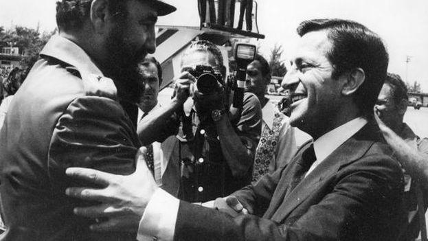 Adolfo Suárez fue el primer líder occidental en visitar la Cuba comunista. (EFE)