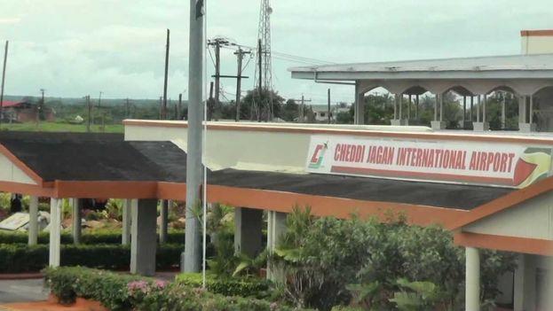 Aeropuerto Internacional Cheddi Jagan, Guyana. (Youtube)