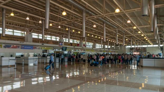 Aeropuerto internacional Simón Bolivar en Caracas. (CC)
