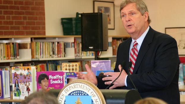 El secretario de Agricultura de EE UU, Thomas Vilsack. (Wikicommons)