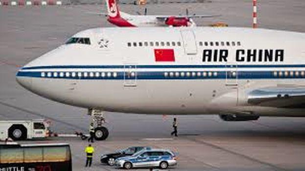 Air China abrirá a finales de diciembre la ruta Pekín-La Habana, con tres frecuencias semanales. (CC)