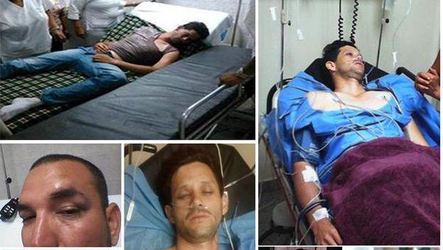 El equipo de prensa de Alcaldía MBI fue agredido por militantes del Psuv, denuncia su alcalde. (@DelsonGuarate)