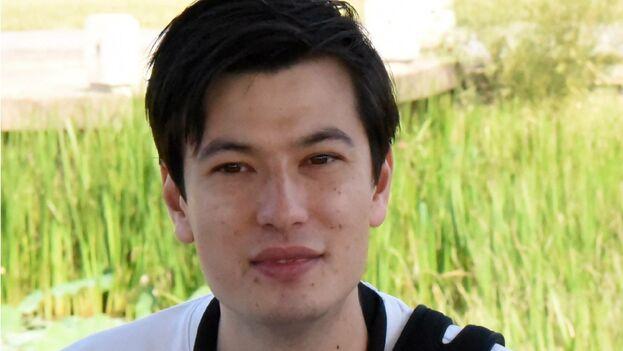 El estudiante australiano Alek Sigley, detenido y posteriormente liberado por Corea del Norte. (EFE)