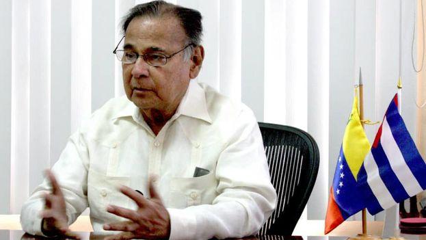 Alí Rodríguez era embajador en Cuba desde 2014. (NicolásMaduro)