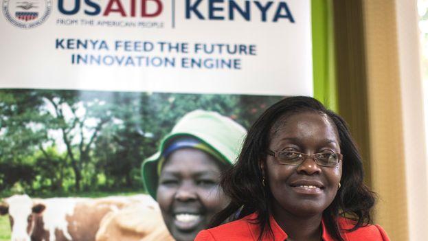 Jane Ambuko, profesora de Agricultura de la Universidad de Nairobi (CC)