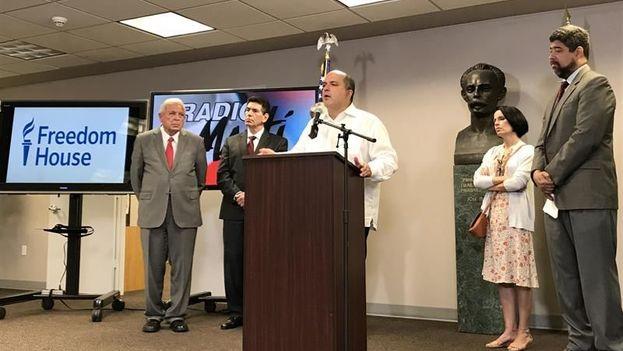Carlos Ponce, director para América Latina de la ONG Freedom House. (EFE/Archivo)
