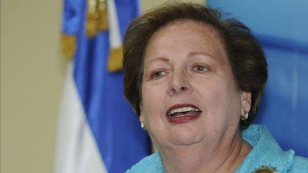 La secretaria de Estado adjunta para América en el gobierno de Estados Unidos, Mari Carmen Aponte. (EFE)