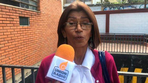 Ana Rosario Contreras ha denunciado la situación de los profesionales sanitarios y advierte que han perdido el miedo y seguirán protestando. (Noticias Venezuela)